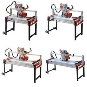 Zipper Bridge Wet Saw by Raimondi - 4 Sizes Available