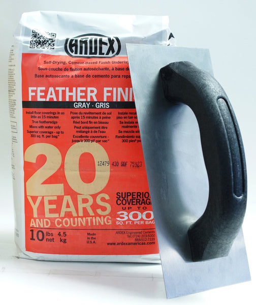 Ardex Feather Finish Cement Based Underlayment w/ Finishing Trowel