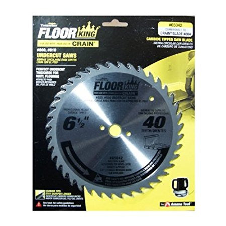 Floor King Comparable Crain 804 Undercut Saw Blade
