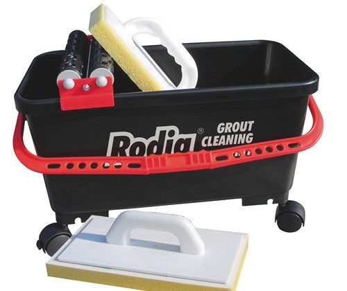 Rodia Grout Cleaning Kit w/ Grout Sponge