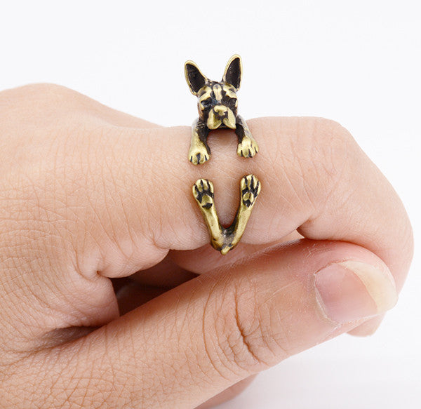 Pup Boston Terrier Ring (The only way to show your LOVE, is to WEAR it)