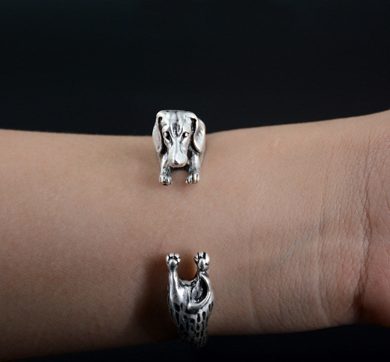 PUP DACHSHUND BRACELET (The only way to show your LOVE, is to WEAR it)