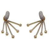 Octopussy Crystal Statement Earrings