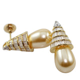 Drop Pearl Pale Creame Earrings