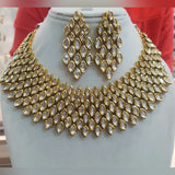 Riviere Kundan Vintage Statement Necklace Set