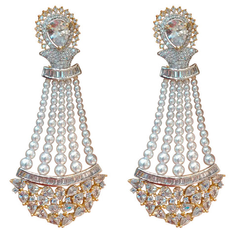 Auric Classic Gold plated Earrings
