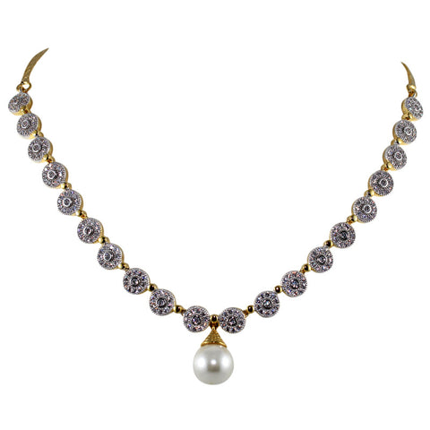 JQueen Women Necklace Set in fine crystal Gemstones