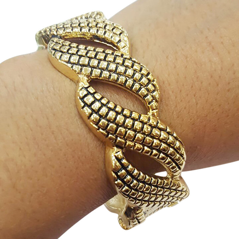Curio Twisted Fashion Statement Women Bangles