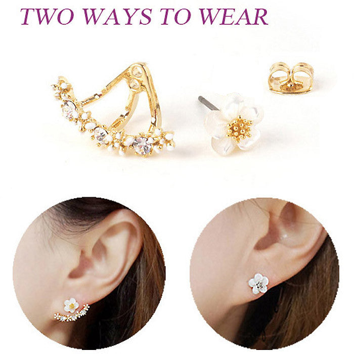 Marquise 2-in-1 Earrings