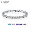 Beagloer Wedding Carat Created Diamond Bracelet
