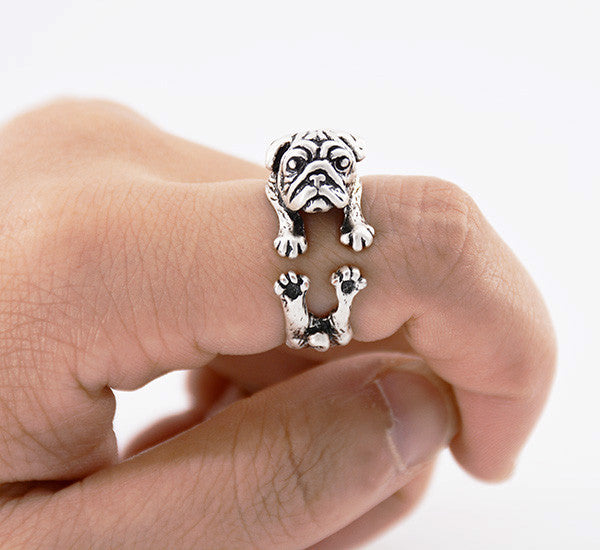 Pup Pug Ring (The only way to show your LOVE, is to WEAR it)