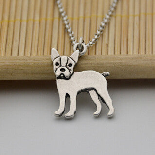 Pup Boston Terrier Necklace (The only way to show your LOVE, is to WEAR it)