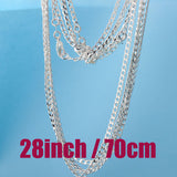 Hainon Gold plated link Necklace Chains For Men and Women