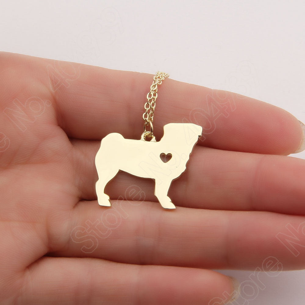 Pup Pug Necklace (The only way to show your LOVE, is to WEAR it)