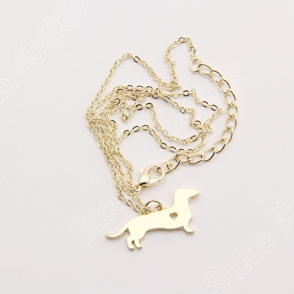 PUP DACHSHUND NECKLACE (The only way to show your LOVE, is to WEAR it)