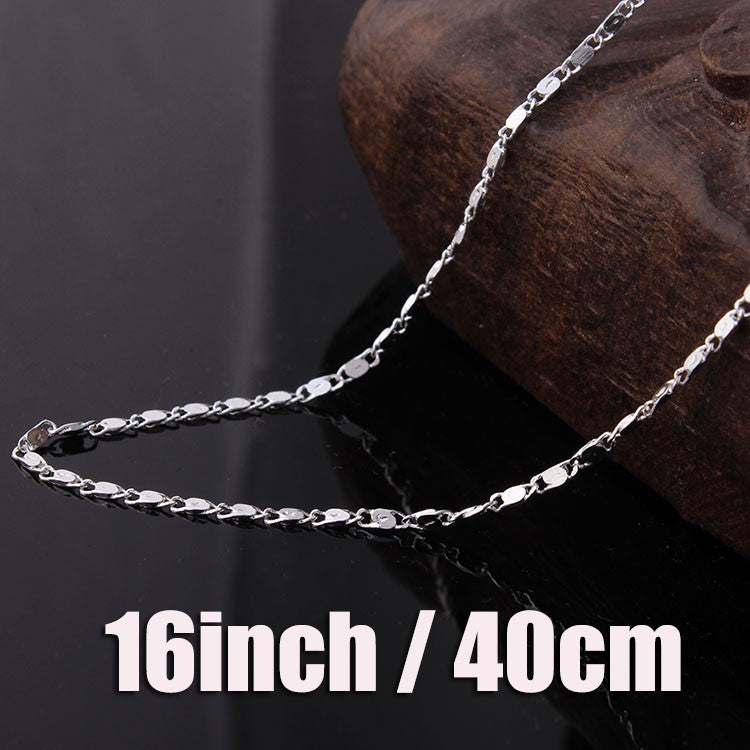 Hainon Gold and Silver plated Necklace Chains