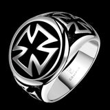 Men's Vintage AAA Platted Titanium Ring