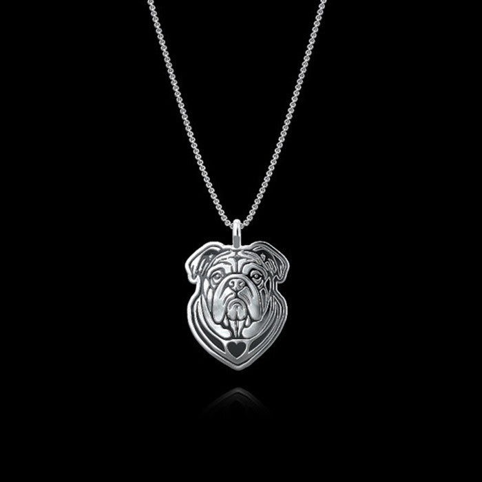 Pup Bulldog Necklace (The only way to show your LOVE, is to WEAR it)