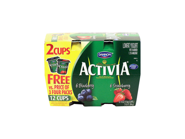 Activa Yogurt, 4 oz/12 ct
