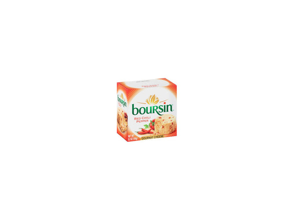 Boursin Red Chili Pepper Gournay Cheese, 5.2 oz