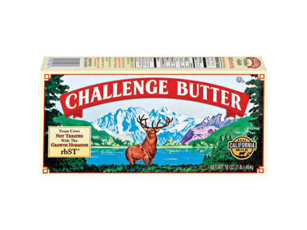 Challenge Pasteurized Butter, 16 oz