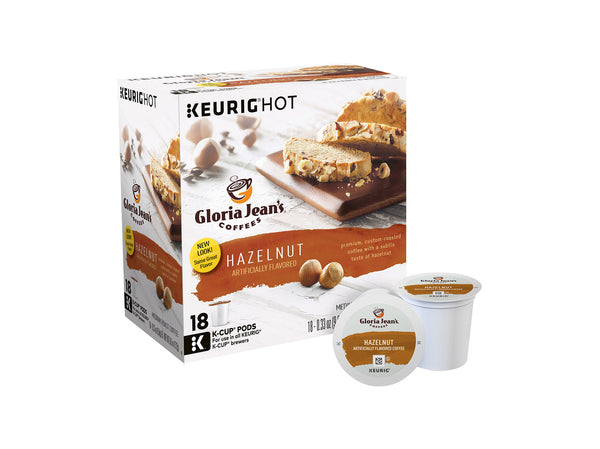 Gloria Jean's K-Cup Coffee, 18 Ct