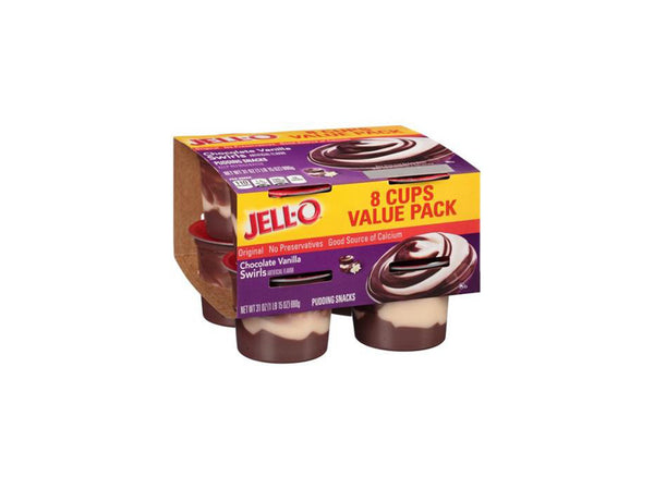 JELL-O Pudding Snacks, 8 count, 31 oz