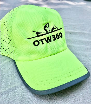 OTW360 - Quick dry cap - High Viz Fluro Yellow