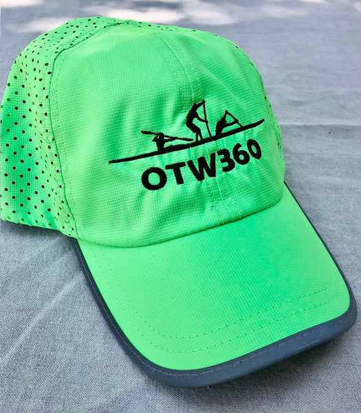 OTW360 - Quick dry cap - High Viz Fluro Green
