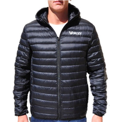 Vaikobi Hooded Down Jacket - Black - Unisex