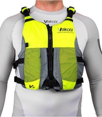 Vaikobi V3 Ocean Racing PFD - Hi-Viz Yellow