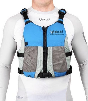 Vaikobi V3 Ocean Racing PFD - CYAN / GREY - XL only