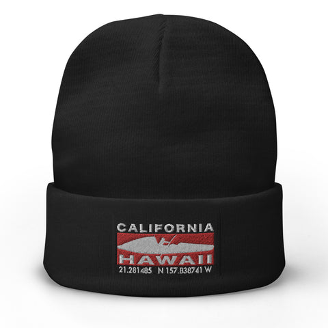 CA2HI Embroidered Beanie