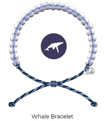 4Ocean - Whale Light Blue / Purple
