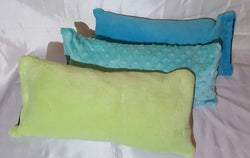 Handmade bath pillow case (only) no internal towel with suction cups