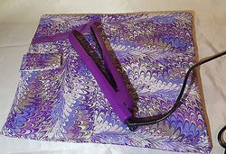 Flat Iron case, heat resistant