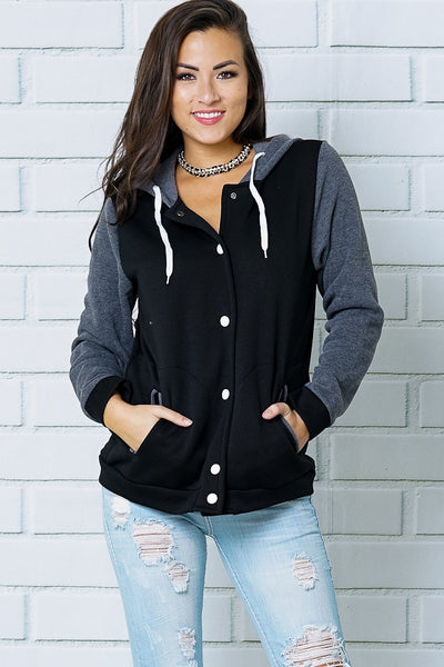 Hoodie Jacket - Lou Lou Girls Shop