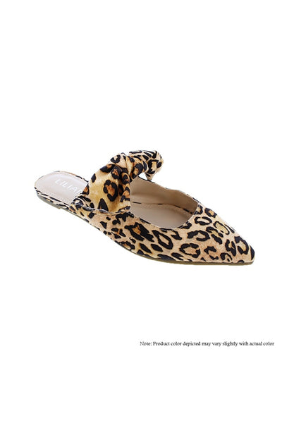 LEOPARD FLATS - Lou Lou Girls Shop