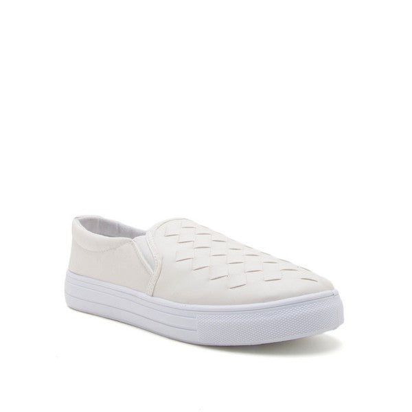 Quilted slip one sneakers - Lou Lou Girls Shop