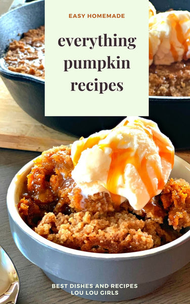 everything pumpkin recipes- ebook