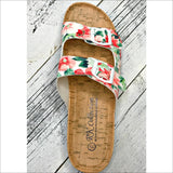 Floral Print Sandal - Lou Lou Girls Shop