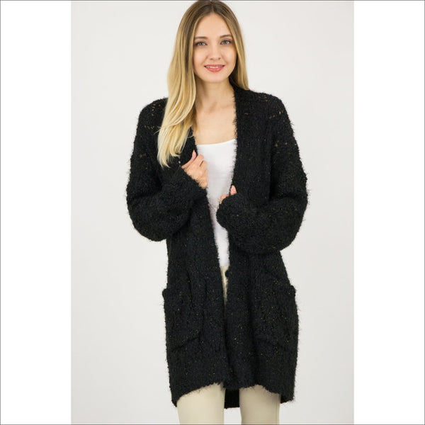 Long Sweater Cardigan - Lou Lou Girls Shop