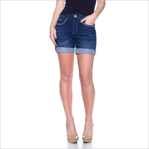 Missy Stretch Denim Shorts - Lou Lou Girls Shop