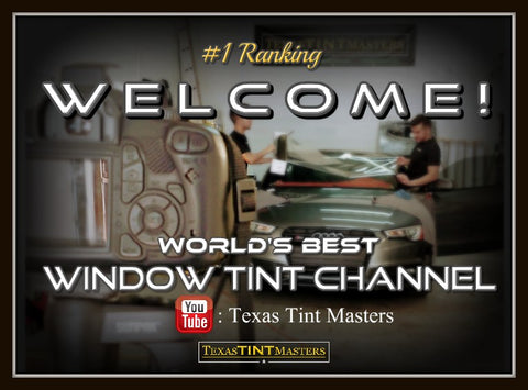 Texas Tint Masters Ceramic Window Tint in Houston, TX Video Vlog Page