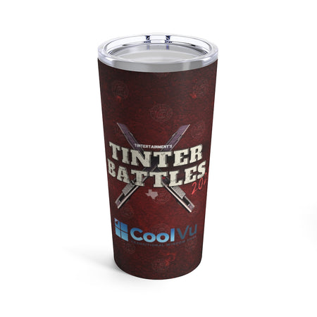 Tinter Battles Tumbler 20oz x CoolVu