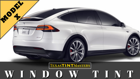 Tesla Model X | Ceramic TINT Install Packages | Prices & Options