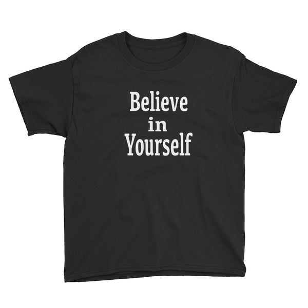 Believe in Yourself youth tee