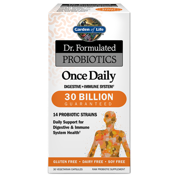 Dr. Formulated Once Daily 30 vegcaps