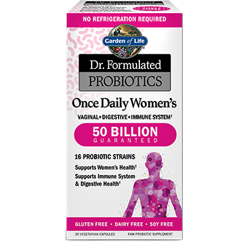 Dr Formulated Once Daily Wom 30 vegcaps