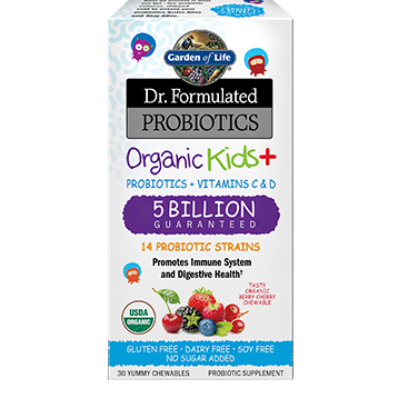 Dr. Formulated Organic Kids + 30 chews